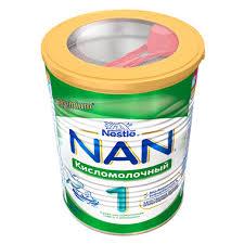 Молочная <b>смесь</b> Nestle <b>NAN</b> Premium <b>Кисломолочный</b> 400 гр №1 ...