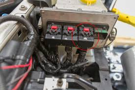 diy jeep wrangler jk kill switch the road chose me jk pcm looking towards the front of the jeep engine on right