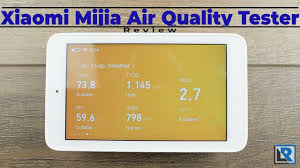 <b>Xiaomi Mijia Air</b> Quality Tester Review (USB-C TVOC CO2 PM2.5 ...