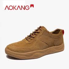 <b>AOKANG 2019</b> Autumn Casual Shoes Men Comfortable Breathable ...