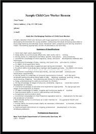 Cover Letter For Daycare Worker No Experience Child Care Assistant