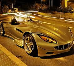 Golden Car - Gold Color Wallpaper ...