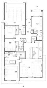 modern residential house 1 story 4 bedroom 3 car garage 3d model obj mtl 3ds
