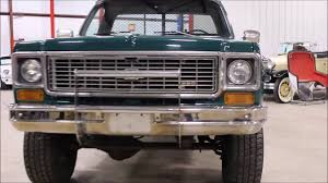 1974 Chevy CK10 flatbed - YouTube