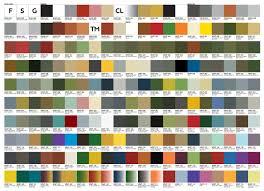 Snowcem Colour Chart 20 Logical British Paints Chart