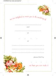 Download Free Wedding Invitation Templates For Word Wedding Invitation Templates That Are Cute And Easy To Make The 7