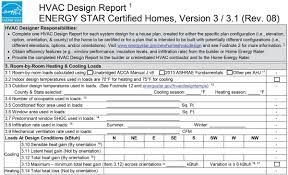 Certified Hvac Designer Energy Star Hvac Design Report 3 Room By Room Heating