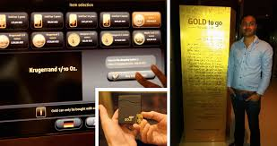 Gold Vending Machine New India Launches Its First Gold ATM The Gold And Silver Club