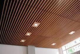 Wood Ceilings - Baffles