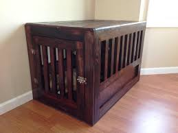 wooden dog crate furniture. Image Of: Wooden Dog Crate Furniture