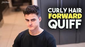 Mens Curly Hair Inspiration Curly Hair Quiff Haircut Hairstyle