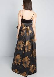 Stately Greatness Floral Maxi Dress