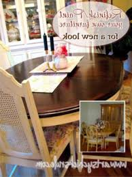 refinished dining room chairs refinishing dining room table need expert advice