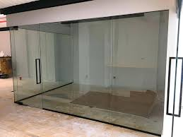 glass partition walls glass wall glass office partitions divider design fabrication glass partition walls for home singapore