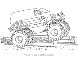 Coloring Pages Of Monster Trucks Grave Digger Valid Monster Truck