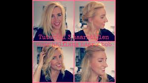 Tutorial 3 Haarstijlen Voor Halflang Haar Bob