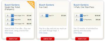 busch gardens admission. Delighful Busch Pampers 2014 Busch Gardens Ticket Options For Admission A