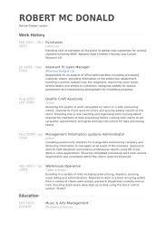 Fundraiser Resume samples