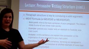 persuasive essay structure lecture persuasive essay structure lecture