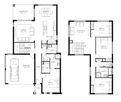 2 story house plans with basement. Wonderful Plans Four Bedroom House Plans With Basement 2 Story  Beautiful Baby Nursery 4 Modern 5