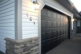 painting a garage door painted garage doors black painting garage door ideas