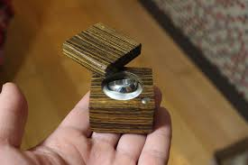 picture of making a wooden ring box