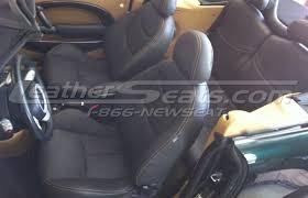mini cooper leather interiors