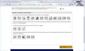 Lufthansa Web Check In Where Can I Fly