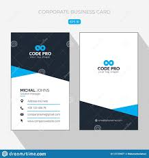 Modern Simple Vertical Business Card Template Contact Namee