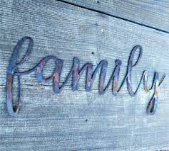 Word Signs Wall Decor Metal Family Sign Farmhouse Wall Decor Metal Words Rustic Wall 36
