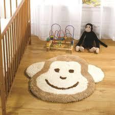 animal shape rug baby nursery decor cute design rugs face monkeys shaped wool animal shape rug