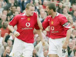 Rooney's second season at old trafford saw him take huge strides. Wayne Rooney Disagrees With Sir Alex Ferguson Over Manchester United Great Roy Keane Manchester Evening News