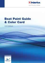 Interlux Boat Painting Guide Color Card Manualzz Com