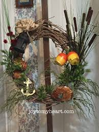 diy lake house wreath