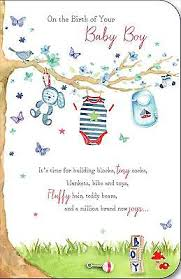 Congratulations On Your Baby Boy On The Birth Of Your New Baby Boy Congratulations Greeting Card