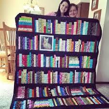 Bookshelf Memory Quilt Pattern