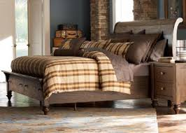 bark furniture. Liberty Furniture Southern Pines Queen Sleigh Bed With Storage In Bark 818-BR-QSB