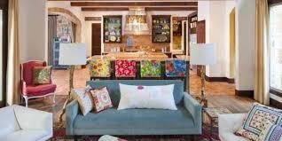 New Style Living Room Furniture Living Room White Hang Lamp On The White Ceiling Luxury Spanish
