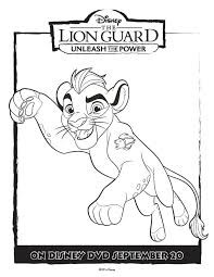 Small Picture The Lion Guard Coloring Pages Unleash The Power