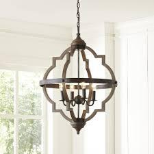 lantern style pendant lighting. Lantern Style Chandelier Foyer Lighting Round Wood Distressed Pendant Light Parrot T