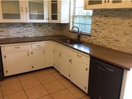 dark brown granite countertops