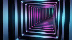 1920x1080 Square 3D Tunnel 1080P Laptop ...