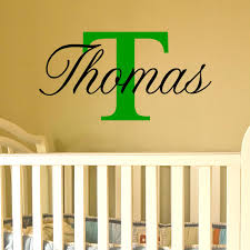 on wall art letter stencils uk with name wall art with capital letter available for a boy or girl