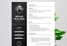 Microsoft Word Resume Templates Amazing 48 Eye Catching CV Templates For MS Word Free To Download