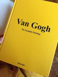 van gogh the complete paintings imagem de book art and yellow