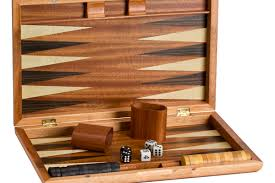 Game With Stones And Wooden Board Backgammon Game Sets Wood Backgammon Boards 55