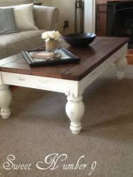 yard coffee table redo another one of my friend s refinish jobs so talented chalk paint coffee