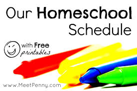 Daily Homeschool Schedule Template Our Homeschool Schedule With Free Printables To Make Life Easier