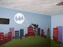 superhero wall stickers fashion