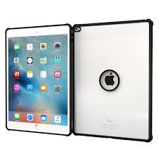roocase iPad Pro 12.9 (2015) ORB Clarico Case Cover, Black Clarion
